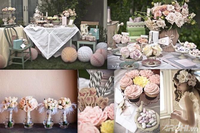 Фото 8906456 в коллекции Винтажная свадьба - Vanil-Decor - организация мероприятия