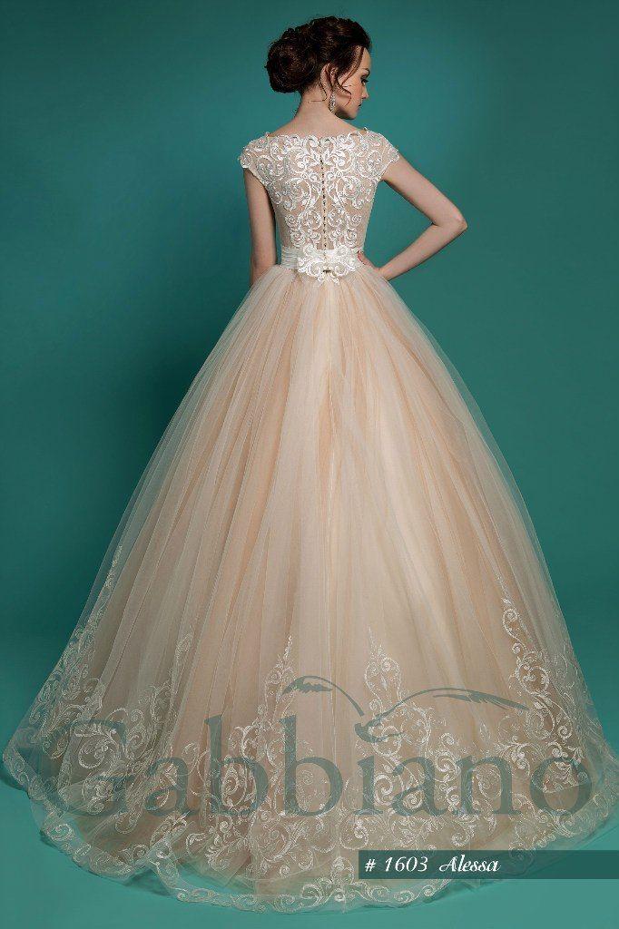 """модель : """"Алесса"""", стоимость 34200 руб - фото 8930318 свадебный салон Хельга"""