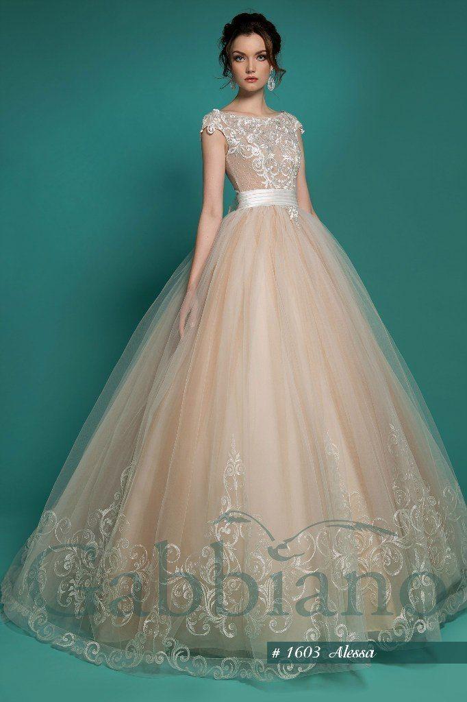 """модель : """"Алесса"""", стоимость 34200 руб - фото 8930320 свадебный салон Хельга"""
