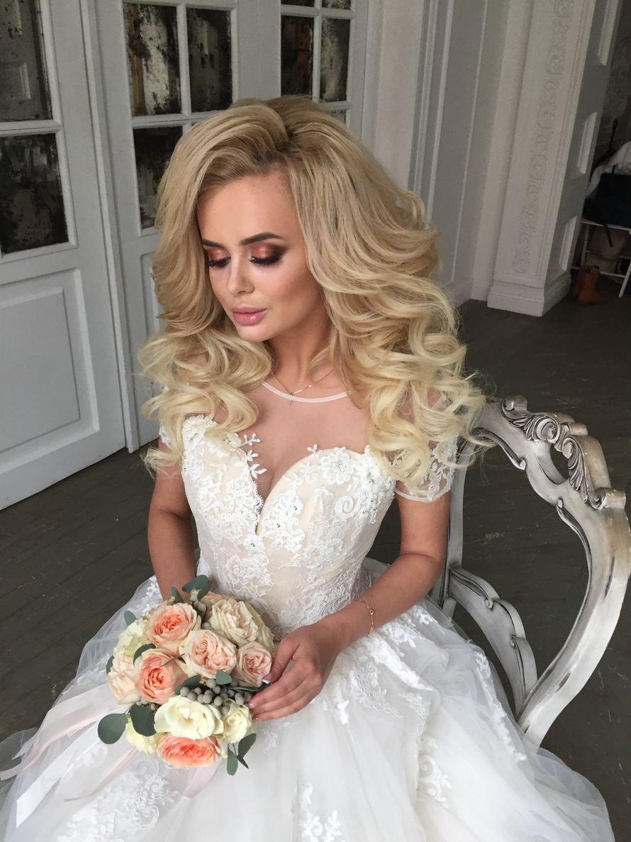 Макияж и причёска от меня для свадебного салона Анна Богдан - фото 14347584 Стилист Юлианна Юренкова