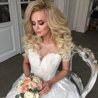 Макияж и причёска от меня для свадебного салона Анна Богдан