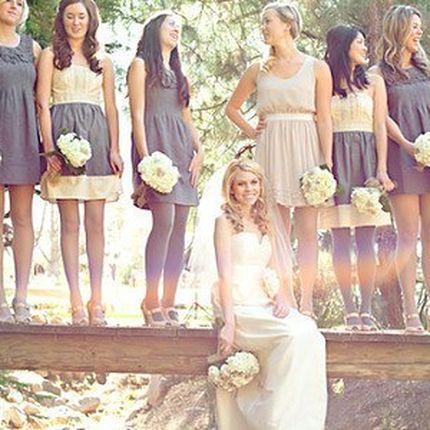 Платья подружкам