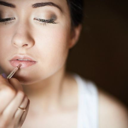 Репетиция макияжа или причёски