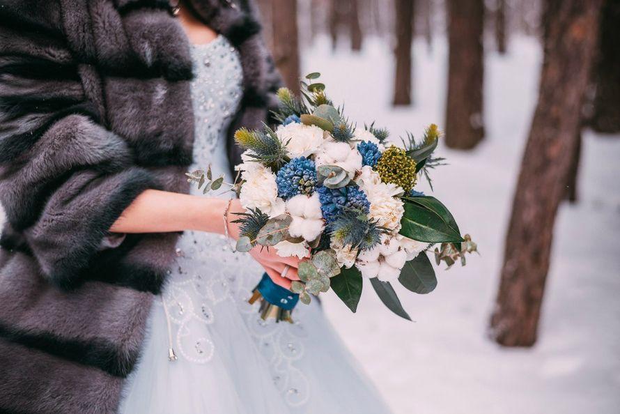 букет для невесты зимний
