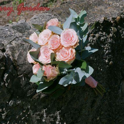 """Букет невесты """"Мятная роза"""""""