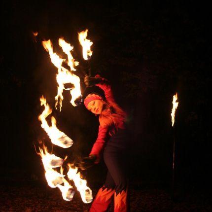 Огненное шоу или файер-шоу
