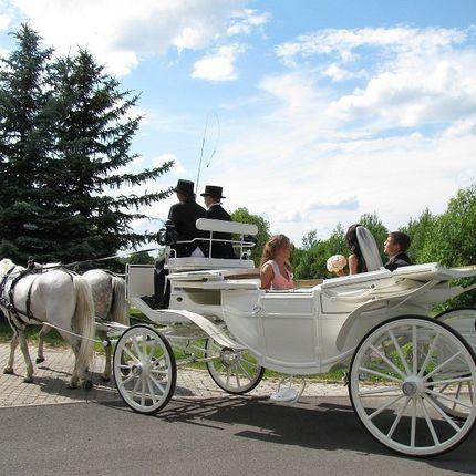 Заказ свадебных карет и экипажей