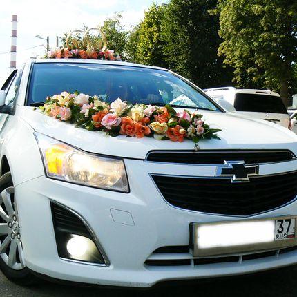 Свадебный кортеж Chevrolet Cruze