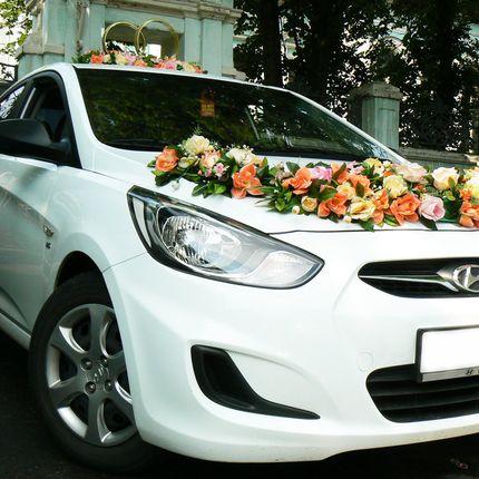 Свадебный кортеж Hyundai Solaris