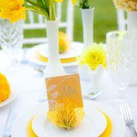 Цвет свадьбы - лютик, желтый