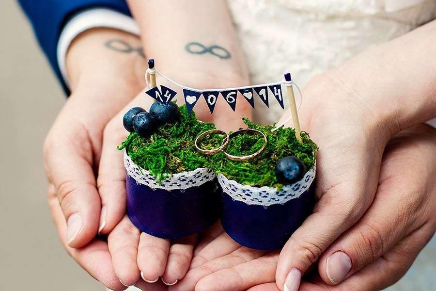 Фото 9435162 в коллекции Цвет свадьбы: Синий - Свадебное агентство Лантан