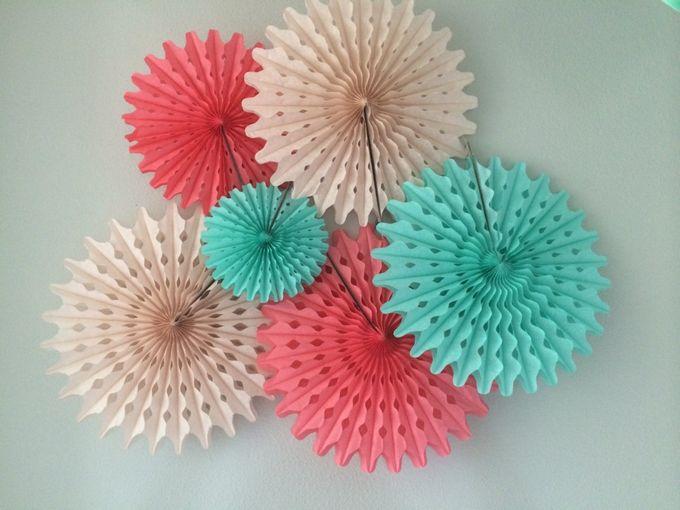 Гофрированные круги для декора как сделать