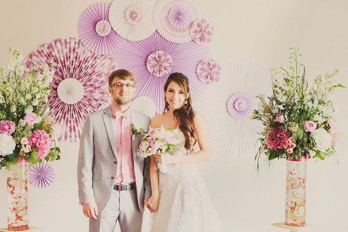Фото 9438620 в коллекции Цвет свадьбы: Розовый - Свадебное агентство Лантан