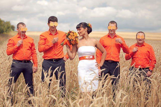 Фото 9440800 в коллекции Цвет свадьбы: Оранжевый - Свадебное агентство Лантан