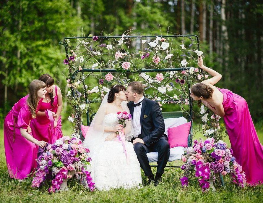 Цветов московском, свадьба в новосибирске на природе