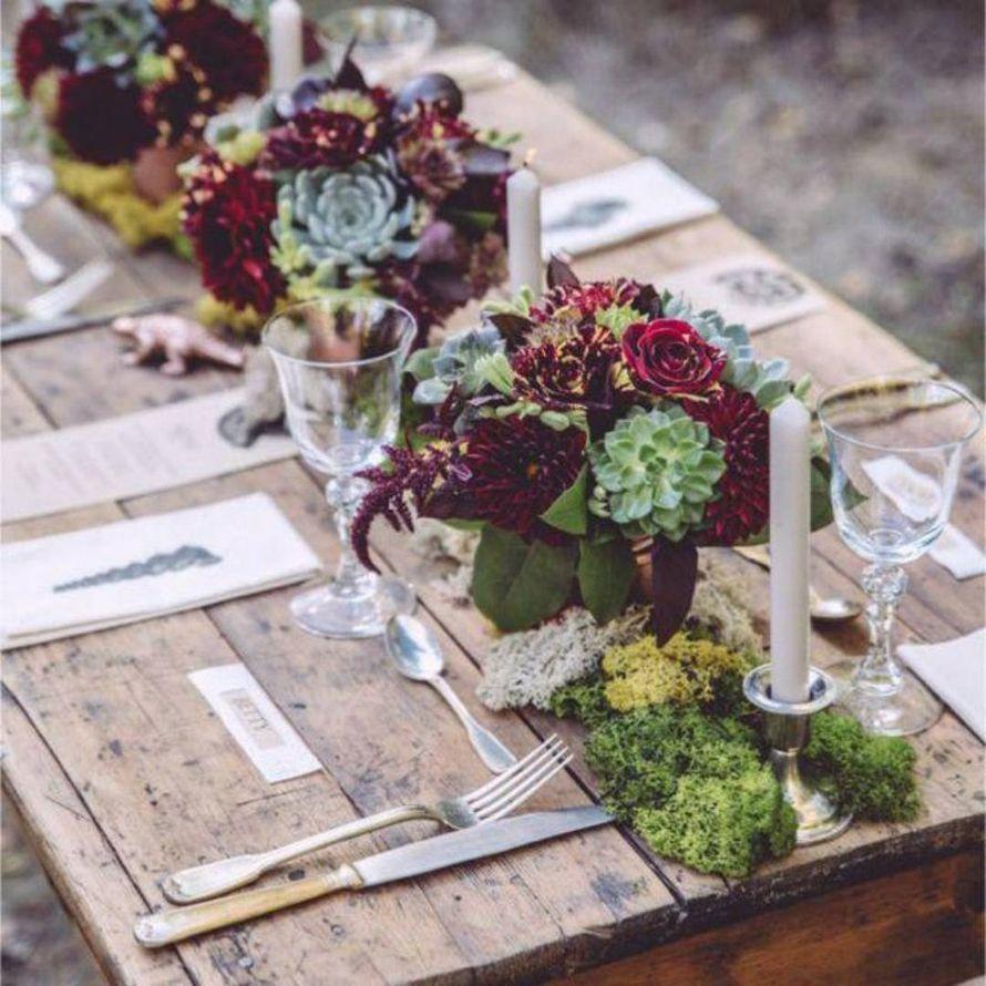 Фото 9442804 в коллекции Цвет свадьбы: Бордо - Свадебное агентство Лантан