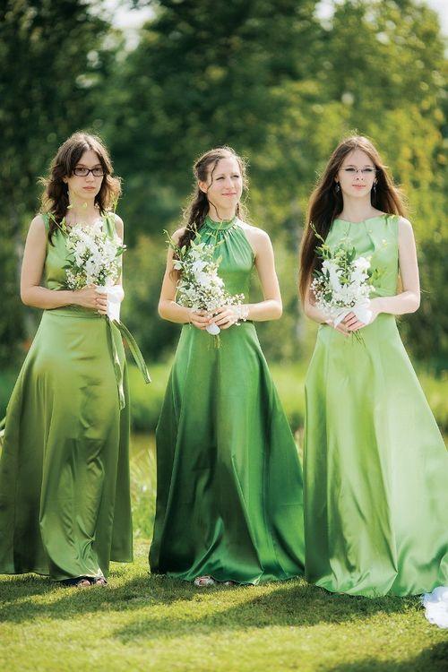 свадьба в зеленых тонах фото шимейл