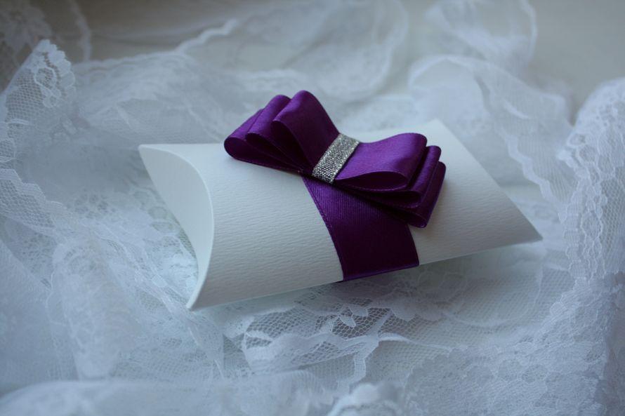 """Бонбоньерка """"Фиолет"""" - фото 11191088 Дизайнер флорист Ольга Федотовских"""