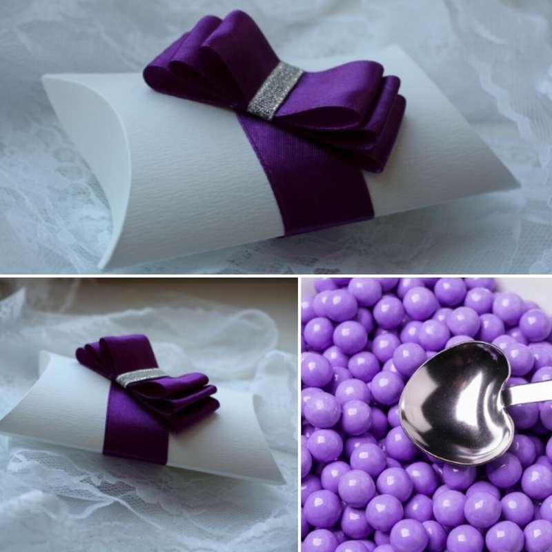 """Бонбоньерка """"Фиолет"""" - фото 11192340 Дизайнер флорист Ольга Федотовских"""