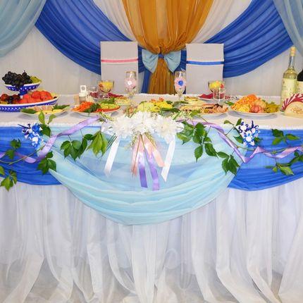 """Организация свадьбы """"под ключ"""" с банкетным меню"""