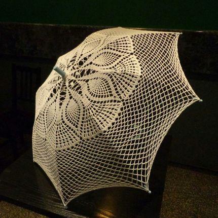 Зонт декоративный ручнаой работы