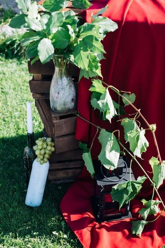 Фото 17272062 в коллекции Винная свадьба Ирины и Дмитрия - Студия декора Юлии Капраловой