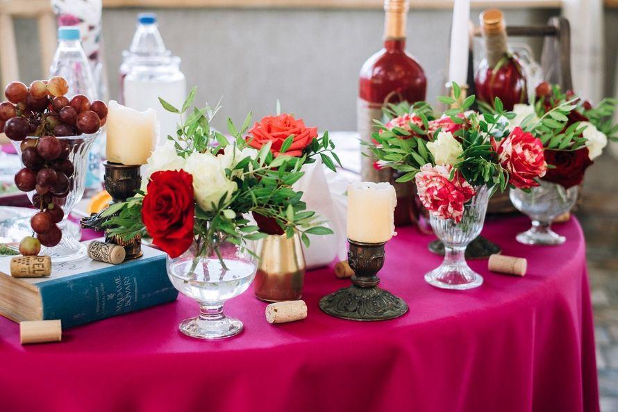 Фото 17272080 в коллекции Винная свадьба Ирины и Дмитрия - Студия декора Юлии Капраловой