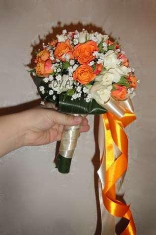 Фото 9604488 в коллекции Букет невесты, свадебный букет, бутоньерка, браслет - DY.Art