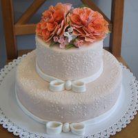 Свадебный торт. Вес 8кг.