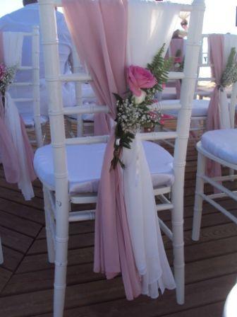Оформление стульчиков для гостей - фото 1020049 TUANA Организация свадьб и торжеств в Анталии