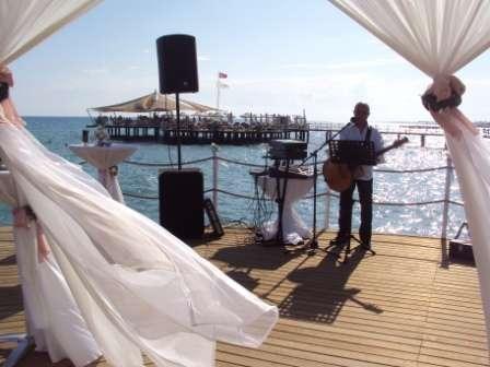 Оформление пирса - фото 1020063 TUANA Организация свадьб и торжеств в Анталии