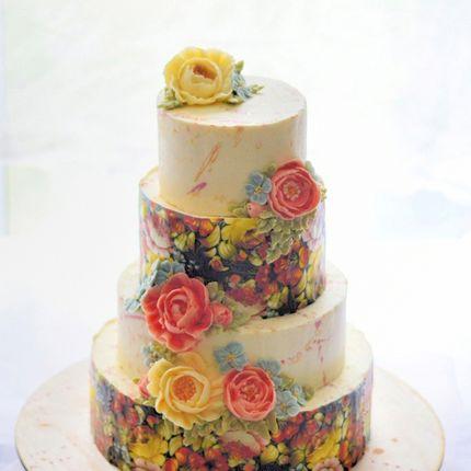 Торт в русском стиле