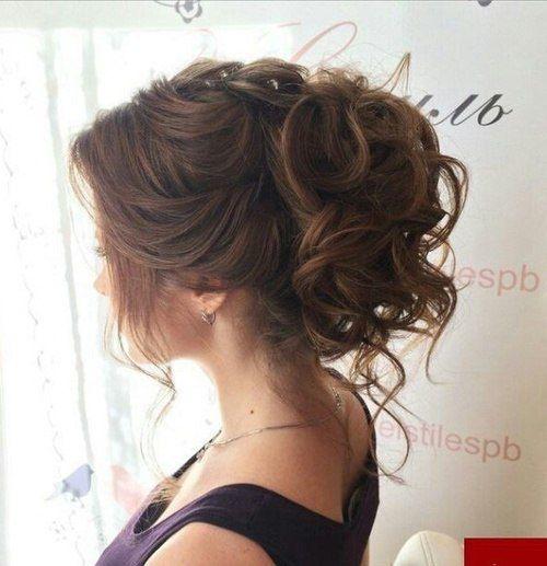 Прически поднятые волосы