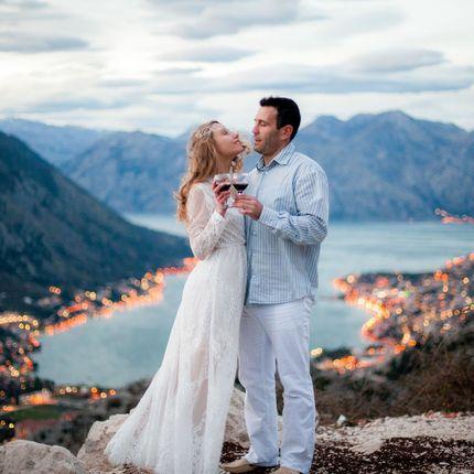 Свадебная фотосъёмка полного дня в Чорногории