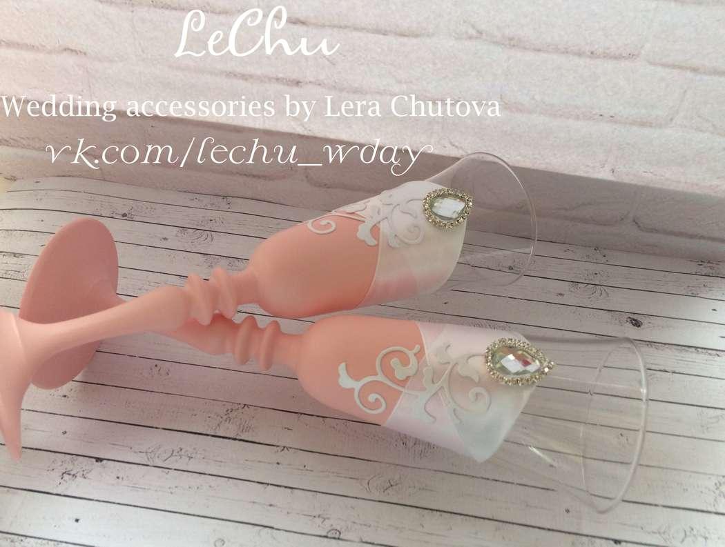 """Фото 14839790 в коллекции Свадебный набор в стиле Прованс - Мастерская аксессуаров """"Lechu"""""""