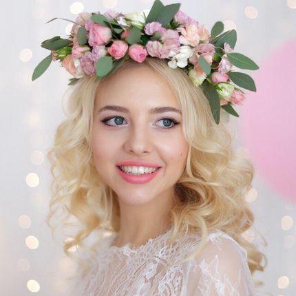 Свадебный образ, прическа и макия