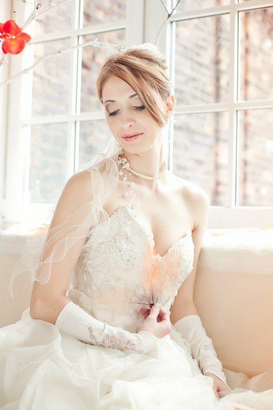 Фото 798779 в коллекции Мои невесты! Больше фотографий - в моей группе!!! - Визажист-стилист Полина Орлова