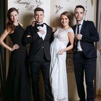 Королевская свадьба в розово-голубых тонах для Полины и Михаила