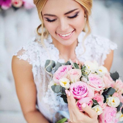 Свадебный макияж и репетиция макияжа