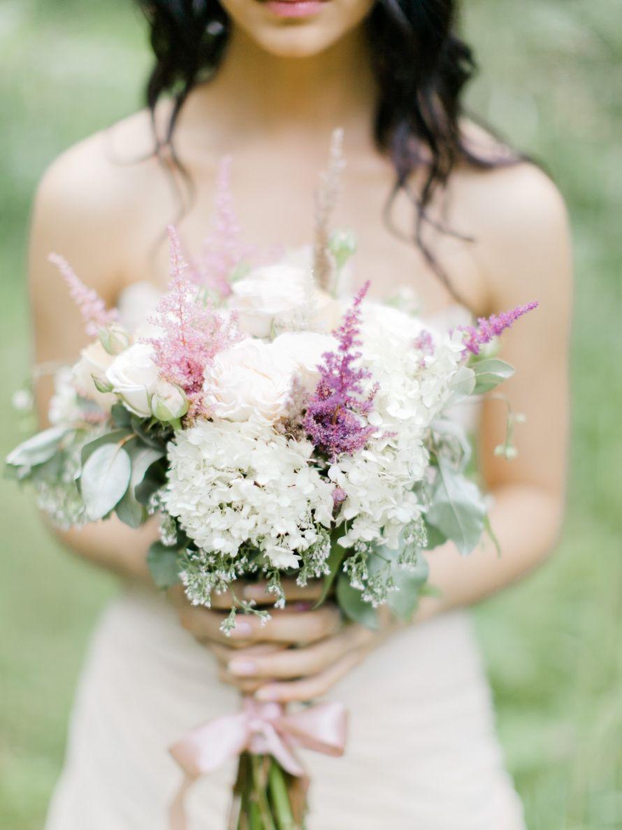 Букет невесты для лесной феи