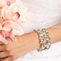 Очаровательный кристальный браслет