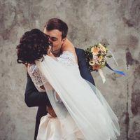 Вариант среднего пучка в моём исполнении для замечательной невесты)