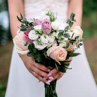 """Букет невесты от студии декора """"Special event"""". Фотограф: Роман Шаец"""