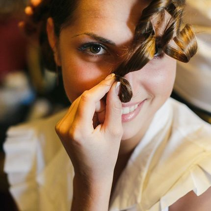 Репетиция прически и макияжа