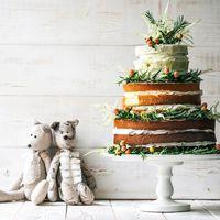 Торт в стиле рустик (торт с открытыми коржами)