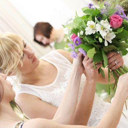 Мастер-класс по составлению свадебного букета