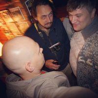 С Димой Колбиным и Уралом Гареевым на Фотовыставке Димы Куликова