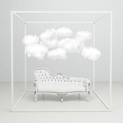 Фотозона Romantic white clouds