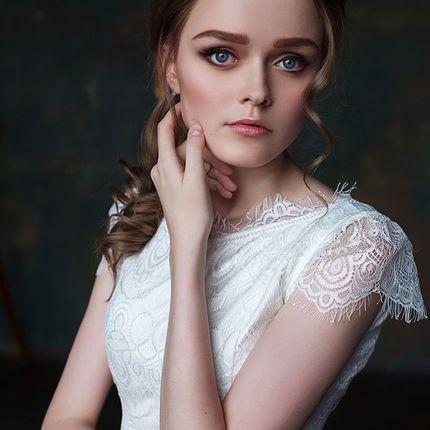 """Свадебное платье """"Воздушный пион"""""""