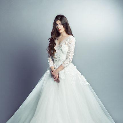 Платье «Облако цветов»